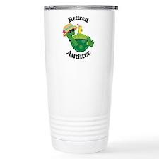 Retired Auditor Gift Travel Mug