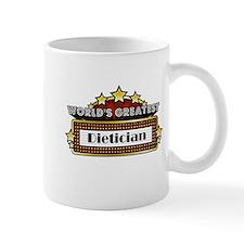 World's Greatest Dietician Small Mug