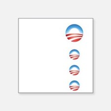 "obama emblems cafepress.png Square Sticker 3"" x 3"""