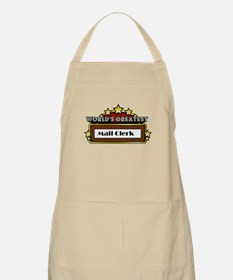 World's Greatest Mail Clerk Apron