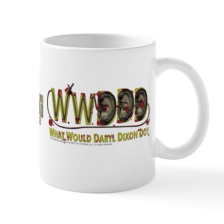 Daryl Dixon Zombie Ear Necklace Mug