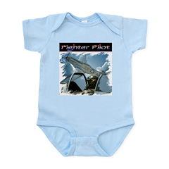 Fighter Pilot #1 Infant Creeper
