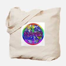 Peace Please! Tote Bag