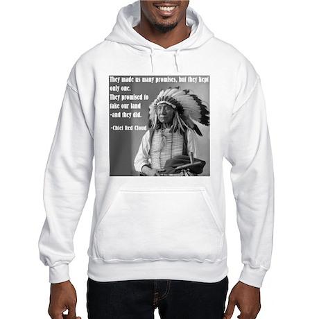 """""""Chief Red Cloud"""" Hooded Sweatshirt"""