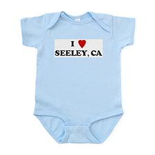I Love SEELEY Infant Creeper