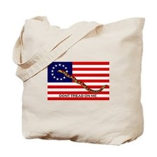 Twin Flags Tote Bag
