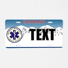 Colorado EMS Custom License Plate