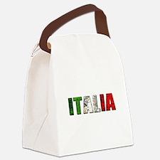 Italia Logo Canvas Lunch Bag