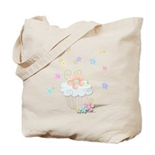 Cupcakes and Flowers Tote Bag