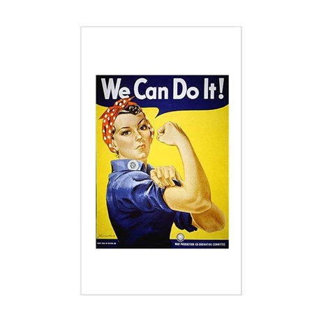 'We Can Do It!' Sticker