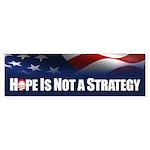 Hope is not Strategy Sticker (Bumper 10 pk)
