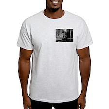Porch Monkey Ash Grey T-Shirt