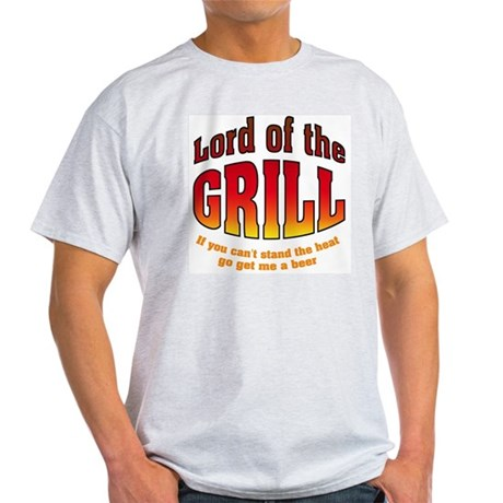 Lord of the Grill Ash Grey T-Shirt