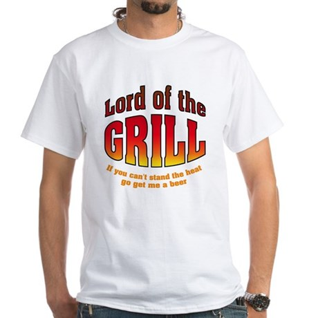 Lord of the Grill White T-Shirt