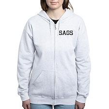 SAGS, Vintage Zip Hoodie