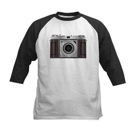 Retro Camera Kids Baseball Jersey
