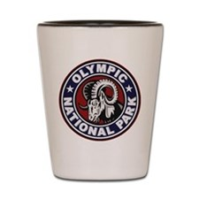 Olympic Ram Circle Shot Glass