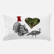heart turkey.png Pillow Case