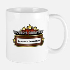 World's Greatest Research Consultant Mug