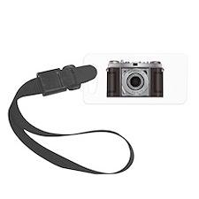 Retro Camera Luggage Tag