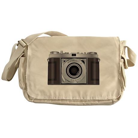 Retro Camera Messenger Bag
