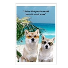 Shiba Paradise Postcards (Package of 8)