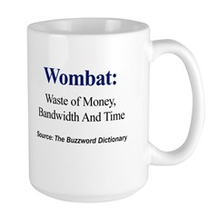 Left-handed Wombat Mug