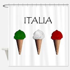 Gelati Italiani Shower Curtain