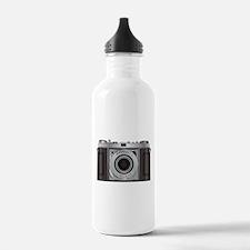 Retro Camera Water Bottle