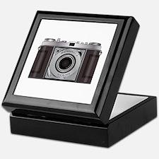 Retro Camera Keepsake Box