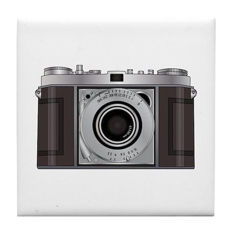 Retro Camera Tile Coaster