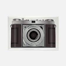 Retro Camera Rectangle Magnet