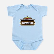 World's Greatest Sheriff Infant Bodysuit
