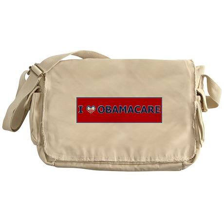 I love ObamaCare! Messenger Bag