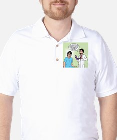 Prostate Exam Golf Shirt