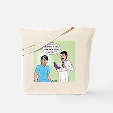 Prostate Exam Tote Bag