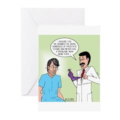 Prostate Exam Greeting Cards (Pk of 20)