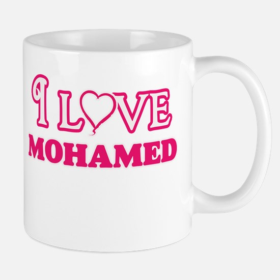 I Love Mohamed Mugs