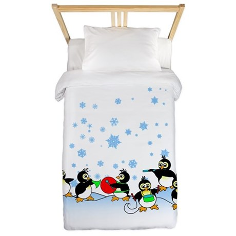 Penguin Band Twin Duvet