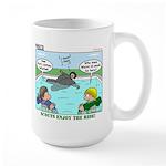 Swimming Large Mug