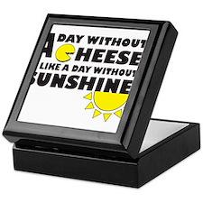 A Day Without Cheese Keepsake Box