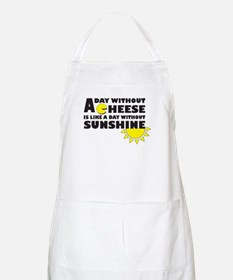 A Day Without Cheese Apron