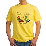 Snow Bored Yellow T-Shirt