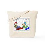 Snow Bored Tote Bag