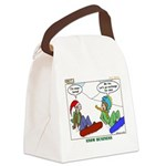 Snow Bored Canvas Lunch Bag
