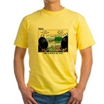 Insect Study Yellow T-Shirt