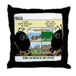 Insect Study Throw Pillow