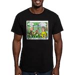 Garden of Eden Men's Fitted T-Shirt (dark)