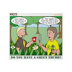 Garden of Eden Throw Blanket
