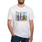 Daniel Boone Fitted T-Shirt